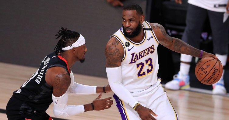 Los Angeles Lakers konferans finalinde!