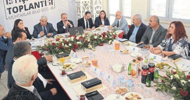 Osmaniye Belediyesi'nden Muhtar Bilgi Sistemi projesi