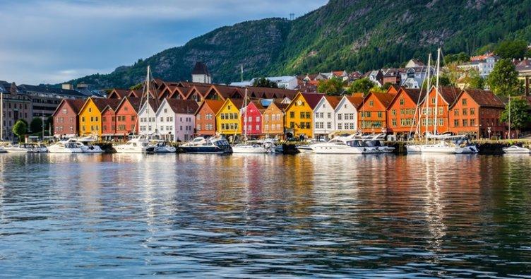 Kuzeyin yedi tepeli şehri Bergen