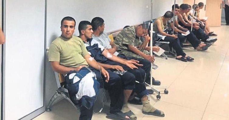 Manisa'da asker yine zehirlendi
