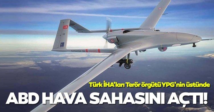Türk İHA'ları Fırat'ın doğusuna geçti