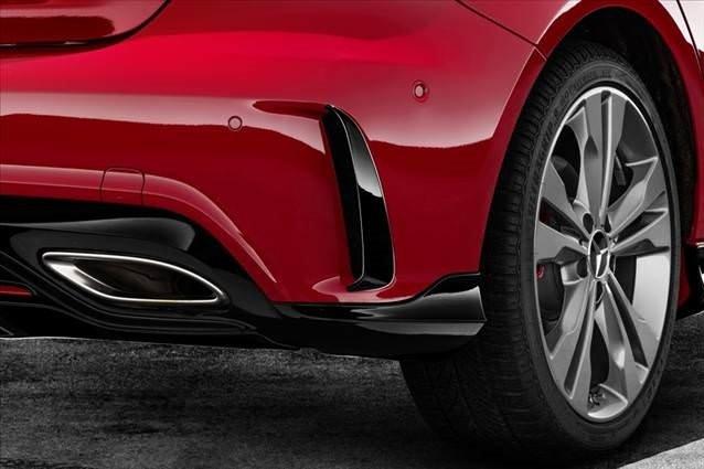 Makyajlı A Serisi'ne yeni AMG gövde kiti