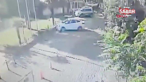 Şişli'de genç kız arkadaşını bıçaklayıp başında bekledi | Video
