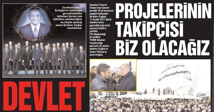 istanbul ticaret gazetesinden ibrahim