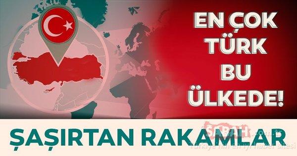 Şaşırtan rakamlar! En çok Türk hangi ülkede yaşıyor? İşte 2019 yılı itibariyle Türklerin yaşadığı ülkeler