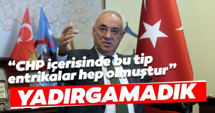 DSP Genel Başkanı Aksakal: CHP içerisinde bu tip entrikalar hep olmuştur