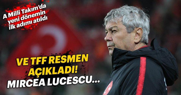 Son dakika: A Milli Takım'da Lucescu dönemi sona erdi
