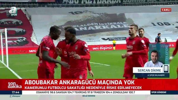 Aboubakar'ın durumu belli oldu! Ankaragücü maçında forma giyecek mi?