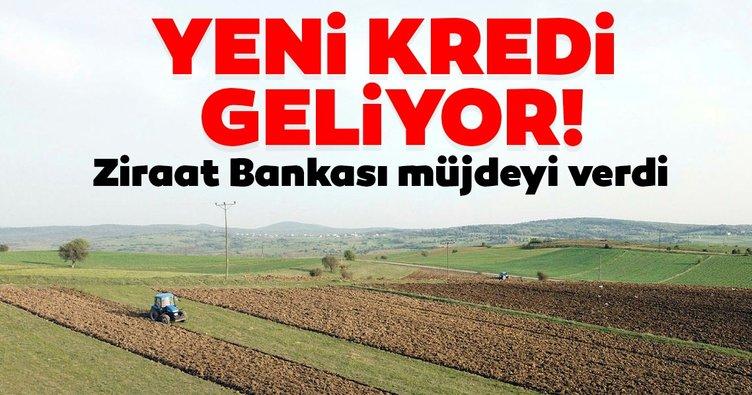 Son dakika | Ziraat Bankası'ndan çiftçiye yeni kredi müjdesi