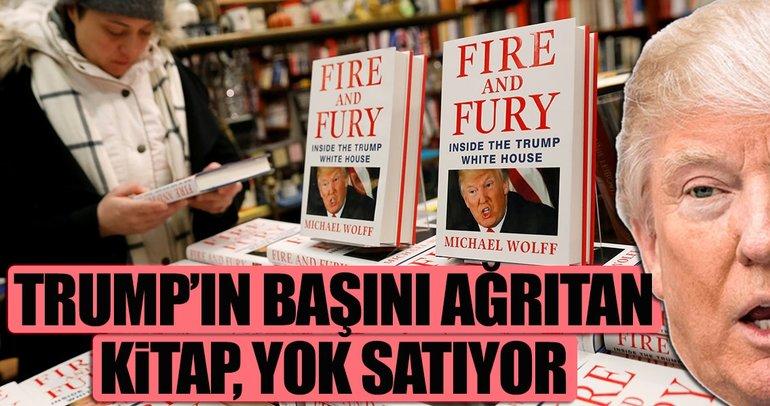 Trump'ın başını ağrıtan kitap yok satıyor
