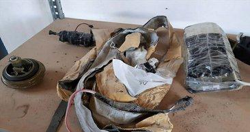 Tel Abyad'da YPG/PKK'ya ait mayın deposu bulundu