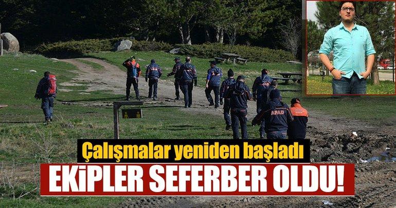 Son dakika: Bursa Uludağ'da kaybolan genci arama çalışmaları devam ediyor