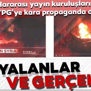 Uluslararası yayın kuruluşlarıPKK/YPG'ye kara propaganda desteği!