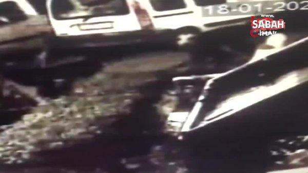 İstanbul'da pes dedirten hırsızlık: Kardan adamı böyle çaldılar   Video