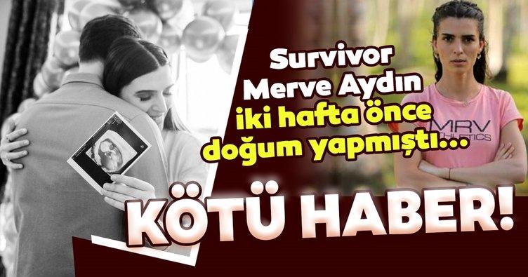 Survivor Merve Aydın'dan kötü haber geldi! Son dakika haberini sosyal medya hesabı üzerinden duyurdu...