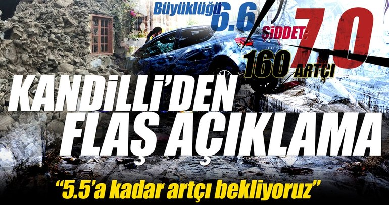 Son dakika! Kandilli Rasathanesi, Ege'deki depremle ilgili açıklama yaptı