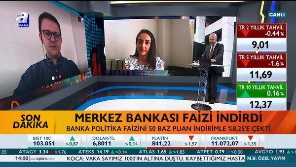 Merkez Bankası faizi indirdi! | Video