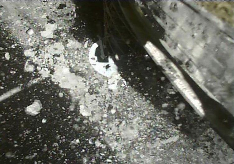 Hayabusa2 asteroidine ikinci inişini yaptı!