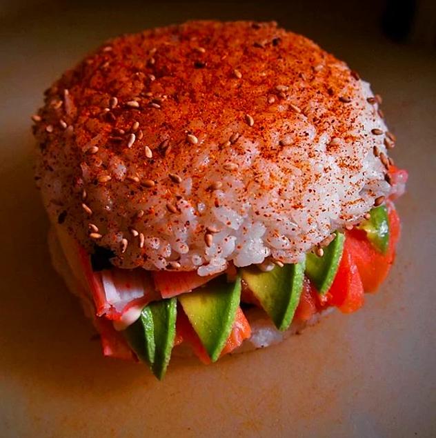 Burgerin böylesi