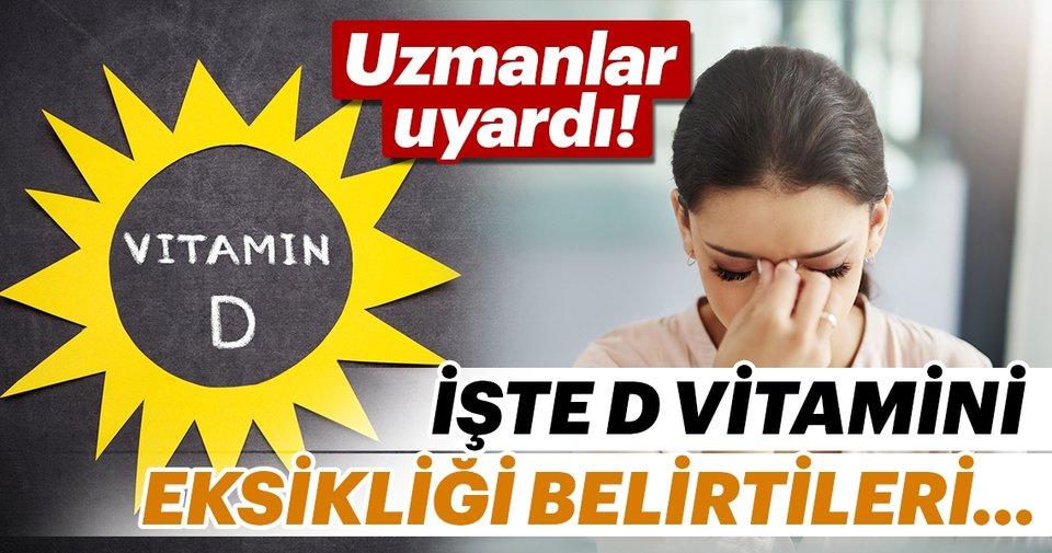D vitamini eksikliği belirtileri - Sağlık Haberleri