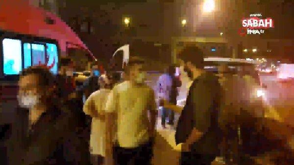 İstanbul Ataşehir TEM bağlantı yolunda 3 araç zincirleme kaza yaptı