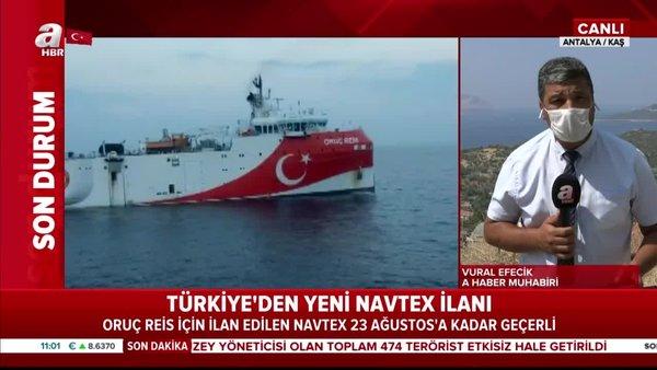 Son Dakika Haberi | Akdeniz'de Türkiye'den yeni NAVTEX ilanı | Video
