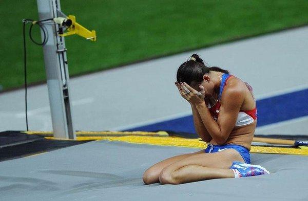 Isınbayeva sıfır çekti