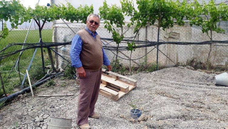 Antalyalı çiftçi su ararken gaz buldu!
