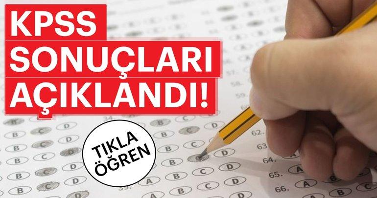 KPSS lisans sınavı sonuçları açıklandı! - ÖSYM giriş ile 2018 KPSS lisans ÖABT sınav sonuçları sorgula!
