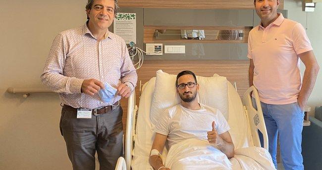Sivassporlu Erdoğan Yeşilyurt ameliyat edildi