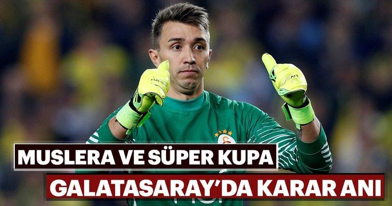 Galatasaray'da kritik Muslera kararı