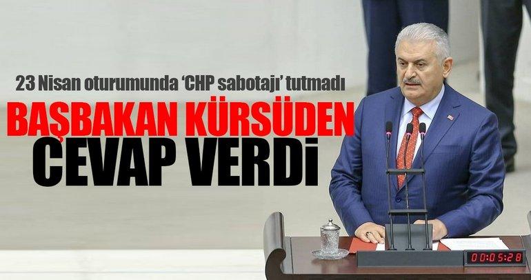 Yıldırım, Kılıçdaroğlu'na kürsüden yanıt verdi