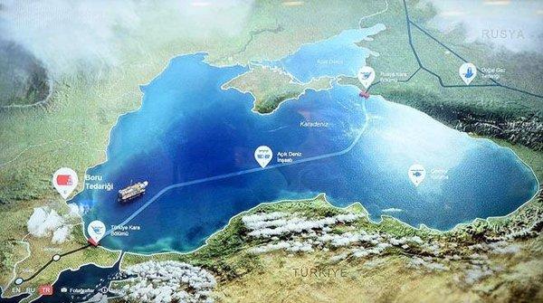 'Türk akımı' ilk kez görücüye çıktı!
