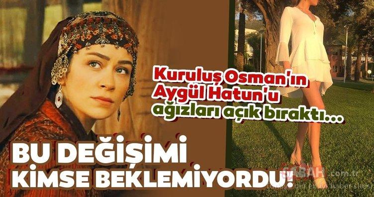 Kuruluş Osman'ın Aygül Hatun'u Buse Arslan bambaşka biri çıktı! Kuruluş Osman oyuncusu Buse Arslan bu haliyle ağızları açık bıraktı!