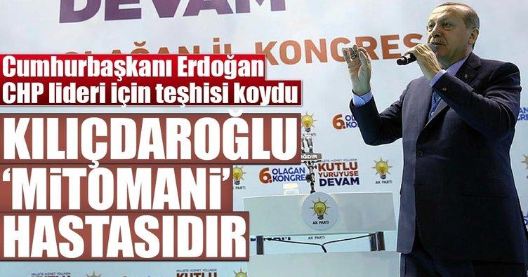 Cumhurbaşkanı Erdoğan, Kılıçdaroğlu'nun teşhisini koydu