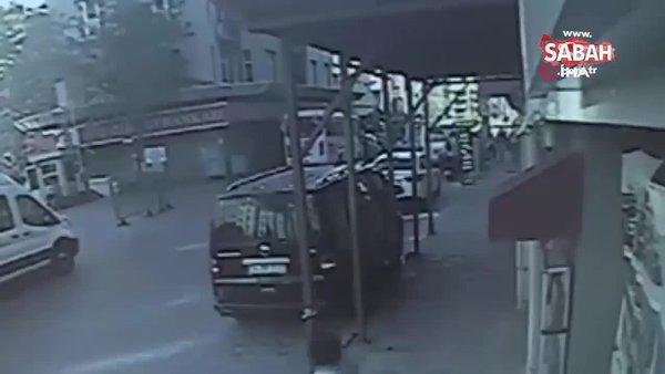 Taksim'de tiner kullanan iki kardeş birbirini yaktı: 1 ağır yaralı! O anlar kamerada | Video