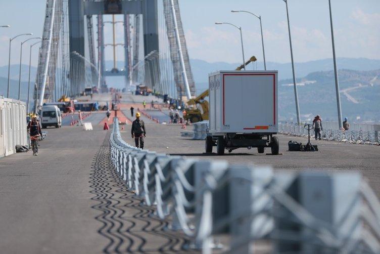 Gebze- Orhangazi otoyolu trafiğe açılıyor
