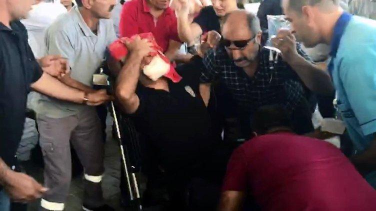 Elazığ'da bombalı saldırıdan ilk kareler!