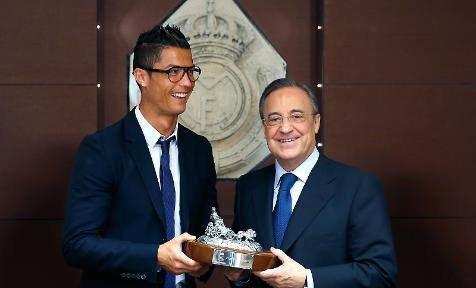Cristiano Ronaldo, 5 sezon daha Real Madrid'de
