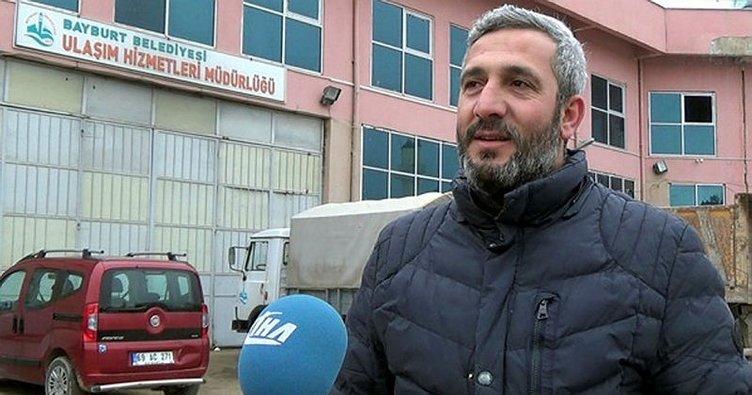 Belediye işçisinden Afrin Marşı