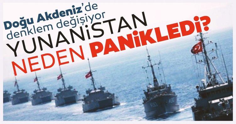 Son dakika: Doğu Akdeniz'de dengeler değişiyor! Yunanistan neden panikledi?