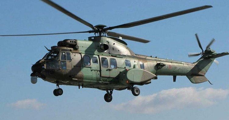 11 askeri helikoptere engel tanıma sistemi