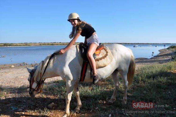 Atlı safari turu turistlerden büyük ilgi gördü!