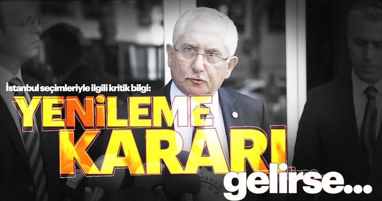 YSK yeniden seçim kararı verecek mi? İstanbul'da Seçim yenilenirse hangi tarihte olacak?