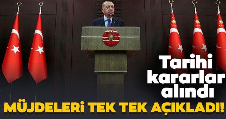 Son dakika! İşte Başkan Erdoğan'ın açıkladığı corona virüs önlemleri
