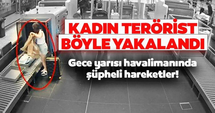 SON DAKİKA HABER | İstanbul Havalimanı'nda kadın terörist böyle yakalandı