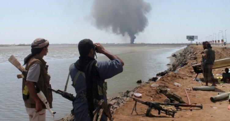 Suudi savaş gemisi vuruldu