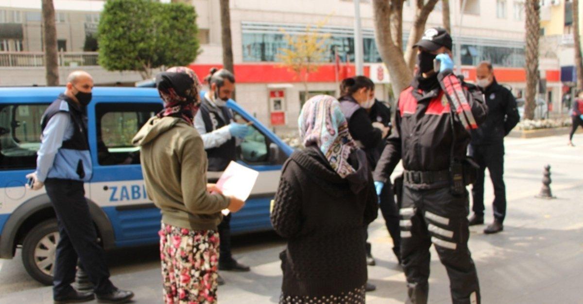 Kavga eden dilenciler bugün dilenirken yine polise yakalandı