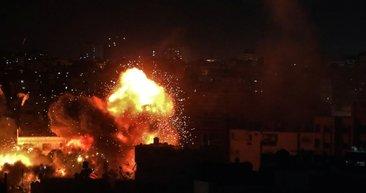 İsrail yine saldırdı! Gazze'de şehit sayısı 5'e yükseldi...