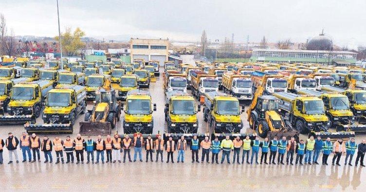 3 bin kişilik kış ordusu